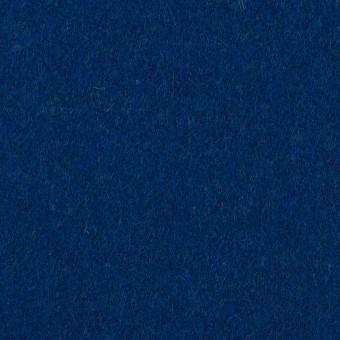 ウール×無地(マリンブルー)×ソフトメルトン