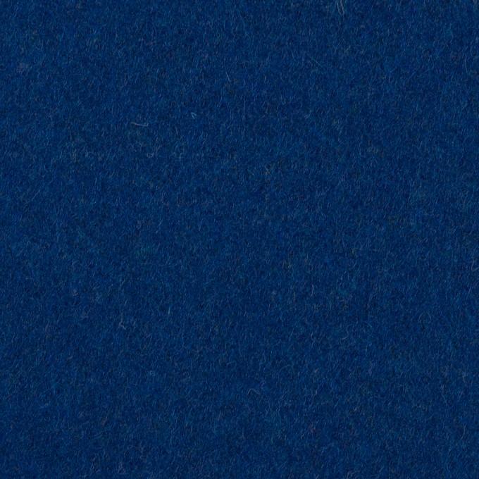 ウール×無地(マリンブルー)×ソフトメルトン イメージ1