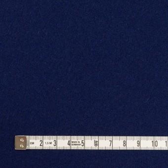 ウール×無地(プルシアンブルー)×メルトン サムネイル4