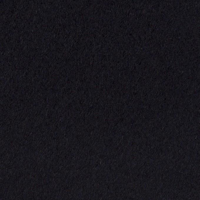 ウール×無地(ダークネイビー)×カルゼ イメージ1