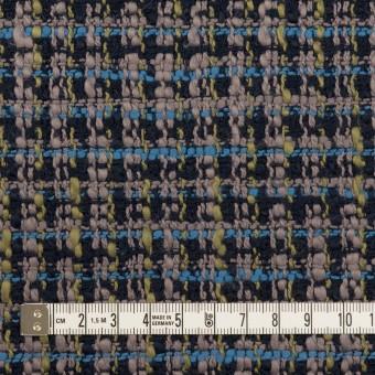 コットン×ミックス(ネイビー&スモークパープル)×ファンシーツイード_全2色 サムネイル4