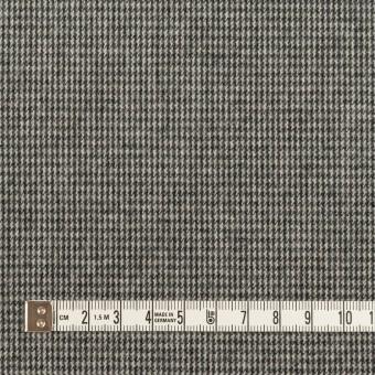コットン×チェック(グレー)×千鳥格子_イタリア製 サムネイル4