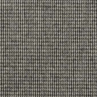 コットン×チェック(グレー)×千鳥格子_イタリア製 サムネイル1