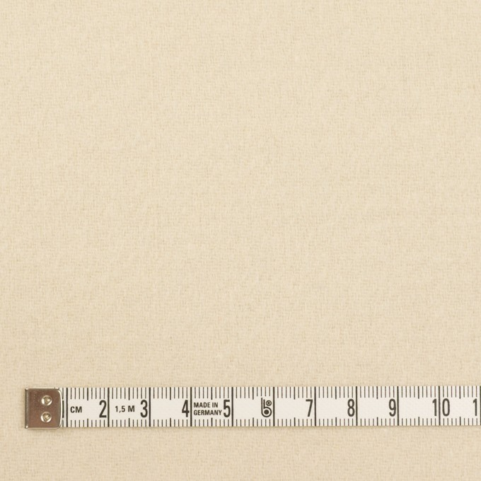 ウール&ナイロン×無地(キナリ)×ソフトメルトン イメージ4