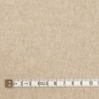 ウール×無地(オートミール)×メルトン サムネイル4