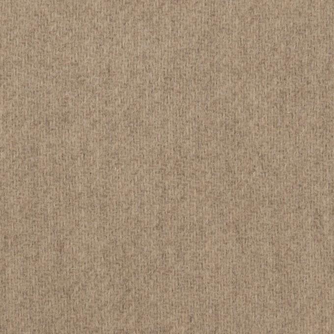 ウール×無地(アッシュカーキ)×メルトン イメージ1