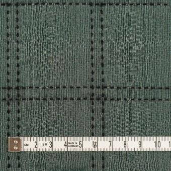 ウール&コットン混×チェック(バルビゾン&ブラック)×オーガンジー&ツイード サムネイル4