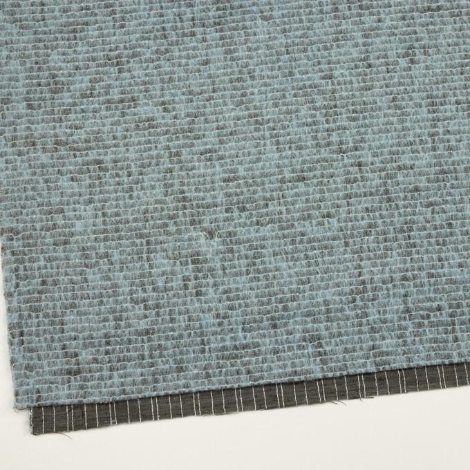 コットン&ウール混×ミックス(ブルーグレー)×シャギー イメージ2