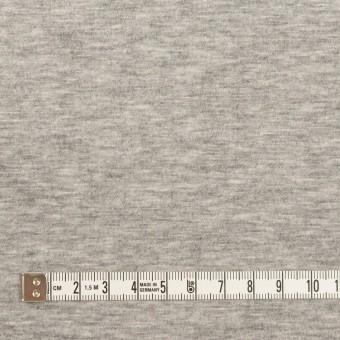 ウール&コットン混×無地(ライトグレー)×Wニット_全2色 サムネイル6