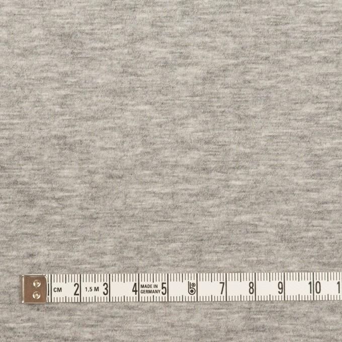 ウール&コットン混×無地(ライトグレー)×Wニット_全2色 イメージ6