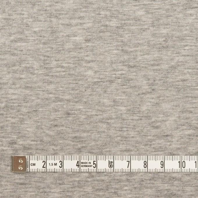 ウール&コットン混×無地(ベージュグレー)×Wニット_全2色 イメージ6