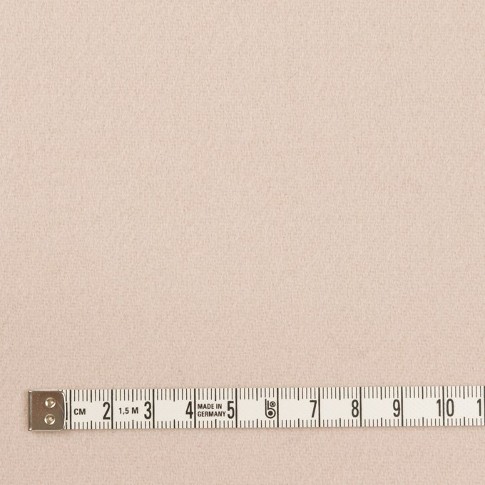 ウール×無地(ローズミスト)×ソフトメルトン イメージ4