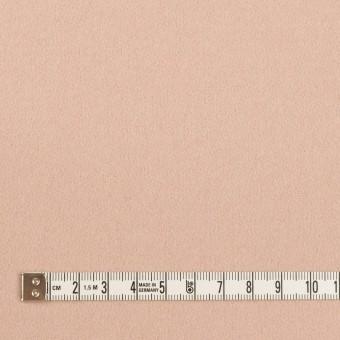ウール×無地(サーモンピンク)×フラノ(フランネル) サムネイル4
