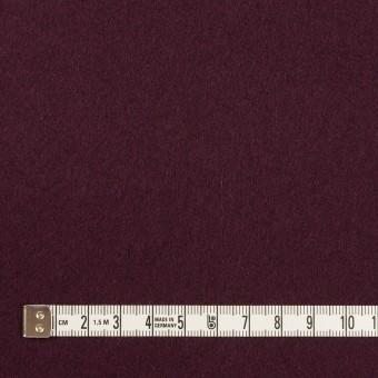 ウール×無地(プラムパープル)×フラノ(フランネル) サムネイル4