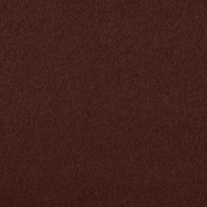 ウール×無地(レーズン)×ビーバー イメージ1