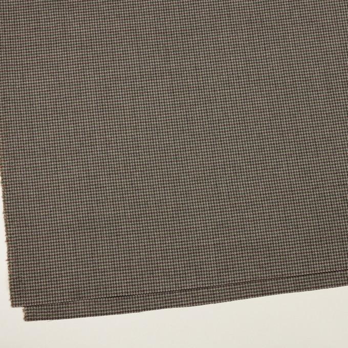 ウール×チェック(エンジ、モスグリーン&グレー)×千鳥格子 イメージ2