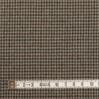 ウール×チェック(エンジ、モスグリーン&グレー)×千鳥格子 サムネイル4