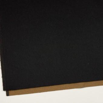 ウール&カシミア×無地(ブラック&オーカー)×ビーバー&フラノ(Wフェイス) サムネイル2