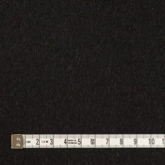 ウール&カシミア×無地(ブラック&オーカー)×ビーバー&フラノ(Wフェイス) サムネイル4