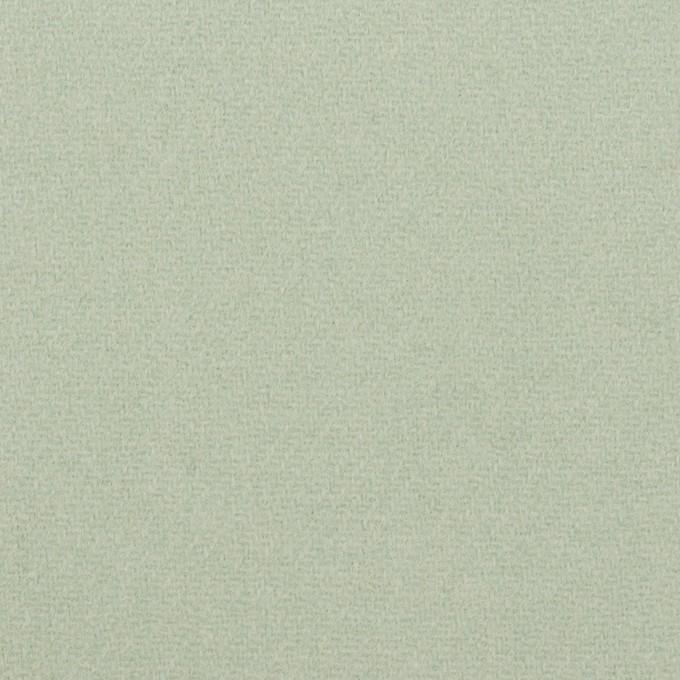 ウール×無地(アトモスグリーン)×フラノ(フランネル) イメージ1