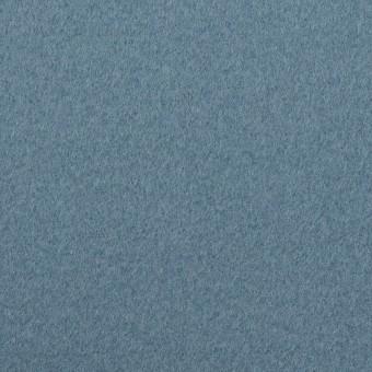 ウール×無地(ゼニスブルー)×フラノ(フランネル) サムネイル1