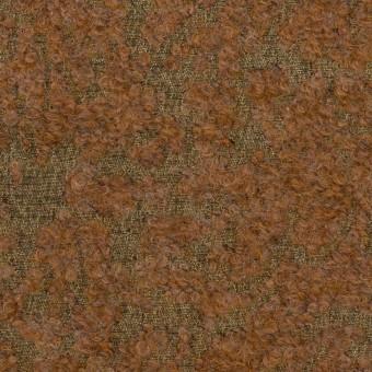 モヘア&シルク混×ミックス(カーキ&モカ)×ジャガード_イタリア製 サムネイル1