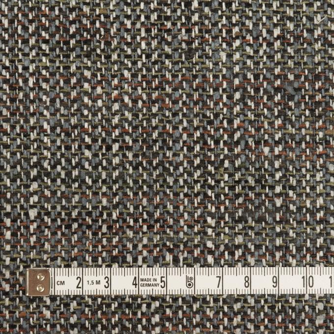 シルク×ミックス(ブルーグレー、レンガ&カーキグリーン)×ファンシー・ツイード イメージ4