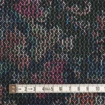 コットン&ポリエステル混×小紋(ピンク&ブルー)×ジャガード・ストレッチ サムネイル4