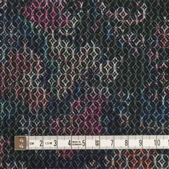 コットン&ポリエステル混×小紋(ピンク&ブルー)×ジャガード・ストレッチ イメージ4