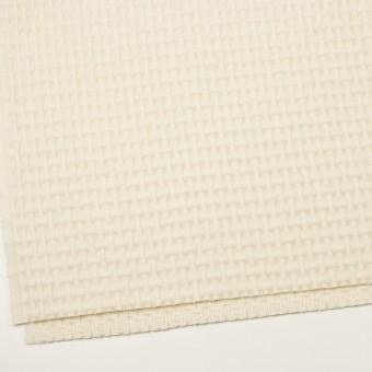 ウール×無地(エクリュ)×蜂巣織_イタリア製 サムネイル2