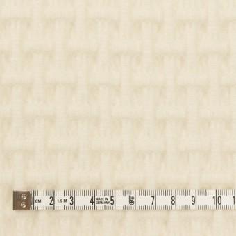 ウール×無地(エクリュ)×蜂巣織_イタリア製 サムネイル4