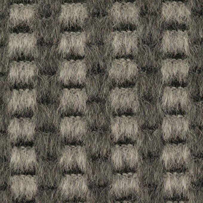 モヘア&ウール×ミックス(グレー)×シャギー イメージ1