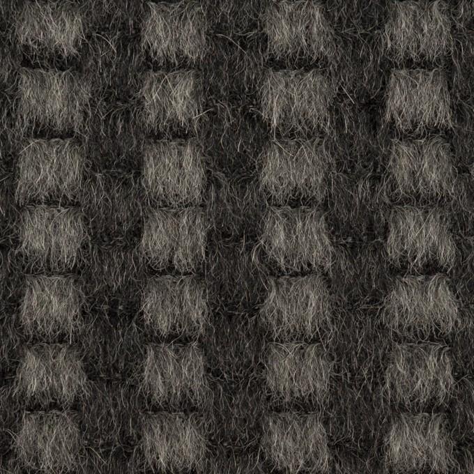 モヘア&ウール×ミックス(チャコール)×シャギー イメージ1