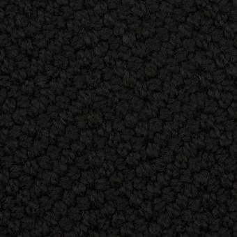 アクリル&ポリエステル混×無地(ブラック)×斜子織