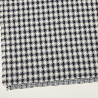 コットン&ポリエステル×フラワー(ブルーグレー)×ドビー_全3色 サムネイル2