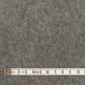 ウール&ポリエステル×無地(チャコールグレー)×フリースニット サムネイル4