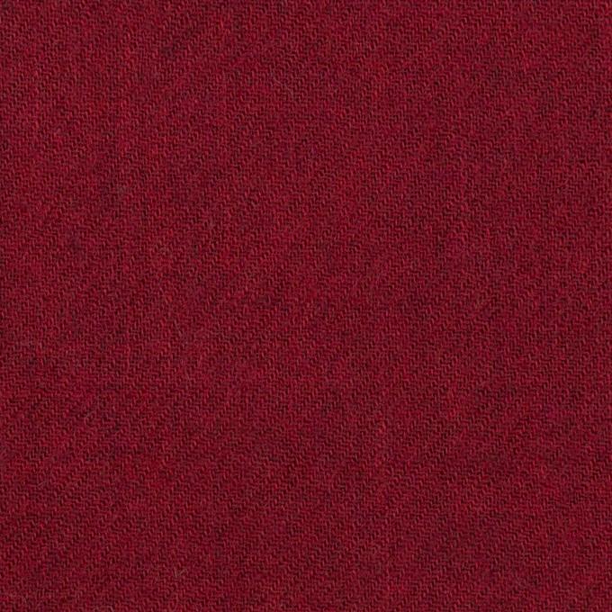 ウール×無地(バーガンディーレッド)×ガーゼ イメージ1