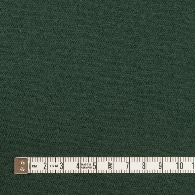ウール×無地(モスグリーン)×サージ イメージ4