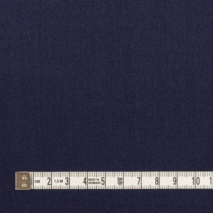 ウール×無地(アッシュネイビー)×ジョーゼット イメージ4