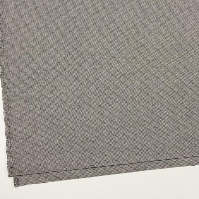 ポリエステル&レーヨン混×無地(グレー)×千鳥格子ストレッチ イメージ2