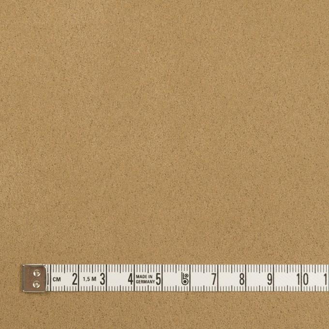 ポリエステル×無地(アンティークゴールド)×スエードかわり織_全4色 イメージ4