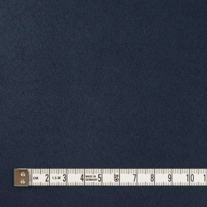 ポリエステル×無地(ミッドナイトブルー)×スエードかわり織_全4色 イメージ4