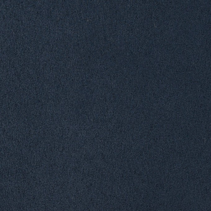 ポリエステル×無地(ミッドナイトブルー)×スエードかわり織_全4色 イメージ1