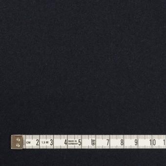 ウール×無地(ダークネイビー)×フラノ(フランネル) サムネイル4
