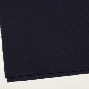 ウール&アクリル混×無地(ネイビー)×斜子織 サムネイル2