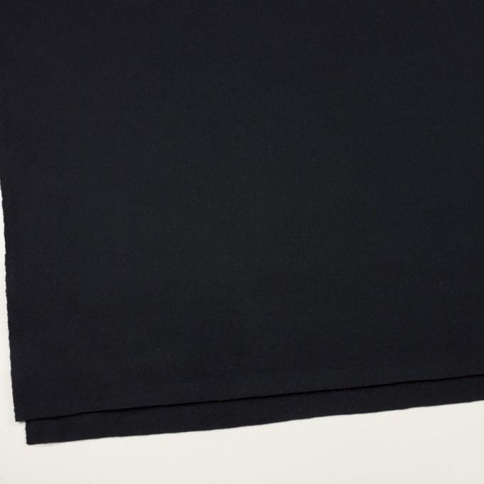 ウール×無地(ダークネイビー)×ソフトメルトン イメージ2