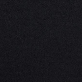 ウール×無地(ダークネイビー)×ソフトメルトン サムネイル1