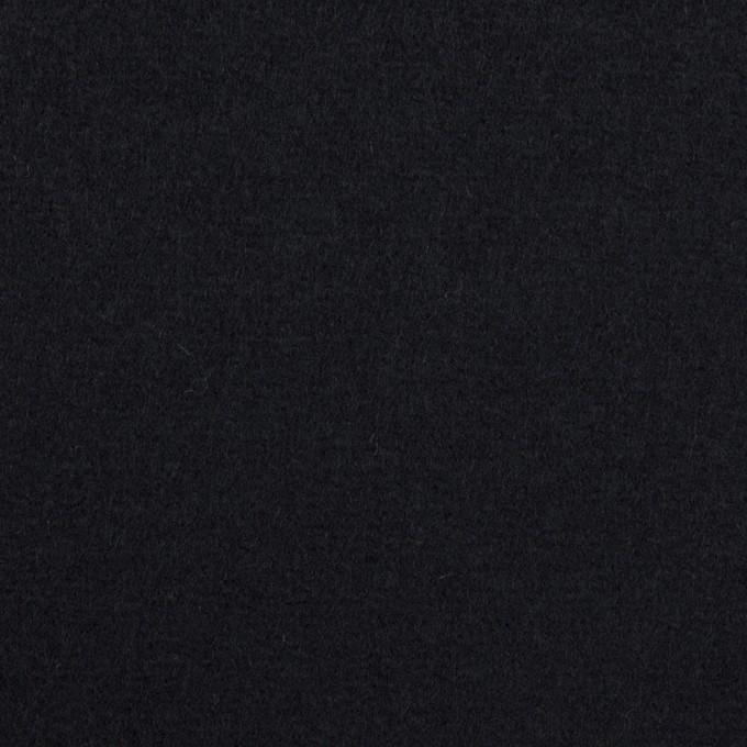 ウール×無地(ダークネイビー)×ソフトメルトン イメージ1