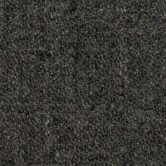 ウール×無地(チャコール)×ツイード サムネイル1