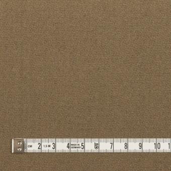 ウール×チェック(ベージュ、モカ&カーキグリーン)×かわり織 サムネイル6